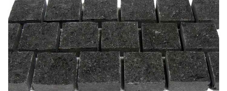 BC0404 - Basalt Cobblestones Natural Sides Cut