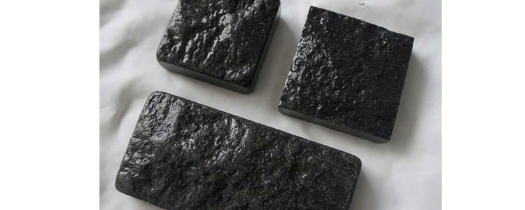 BC0405 - Basalt Cobblestones Sides Cut/Tumbled