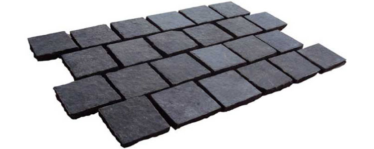 BP0501 - Basalt Paving Stones All Natural