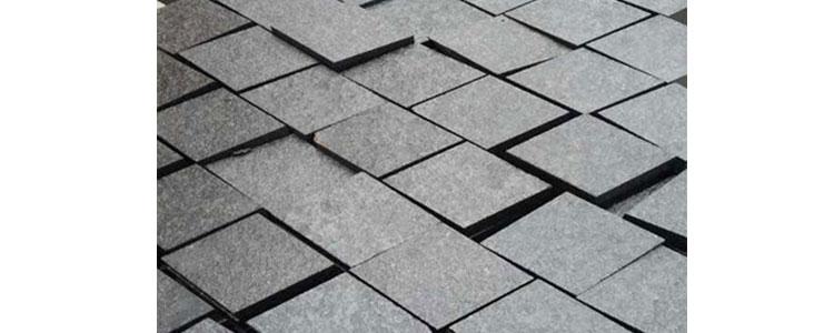BP0506 - Basalt Paving Stones Top Flamed Sides Cut