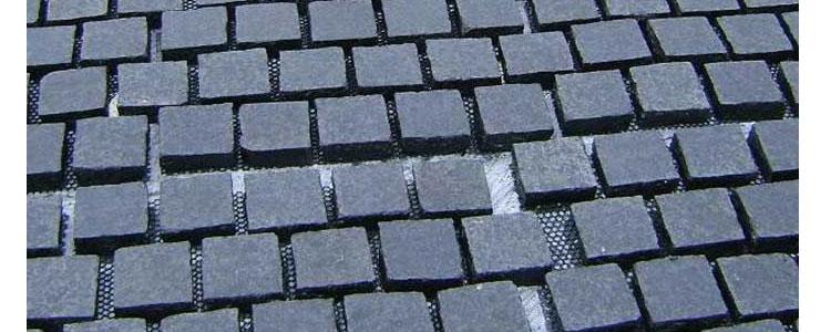BP0503 - Basalt Paving Stones Top Flamed Sides Natural