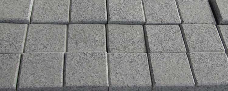 Salt Pepper Granite Cobblestones