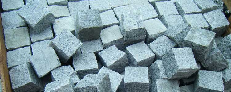 Green Granite Cobblestones