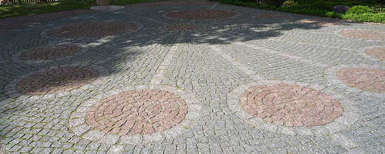 Red Granite Cobblestones