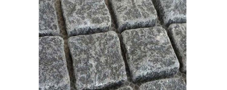 GM0357 - 4x4 Ancient grey mesh granite straight.