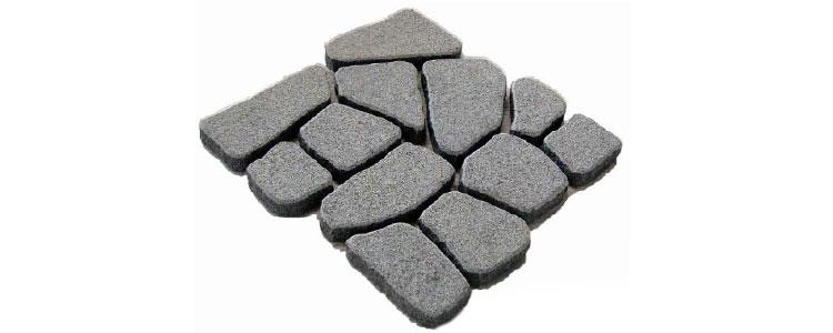 GM0309 - Ancient grey crazy pattern.