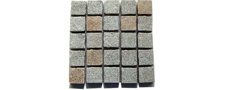 GM0364 -Gold and salt and pepper mesh granite straight pattern.