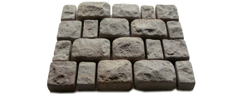 GM0307 - Granite cobblestone - 3 piece random pattern.