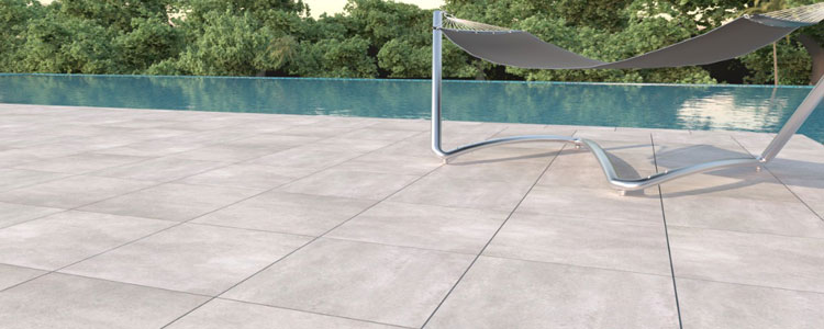 2cm Bluestone Grey Porcelain Pavers