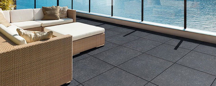 PR2115 - Dark Grey Porcelain Pavers