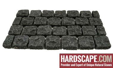 BC0401 - Basalt Cobblestones Natural/Flamed