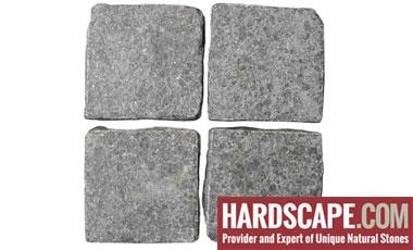 BP0502 - Basalt Paving Stones Top Flamed sides Cut