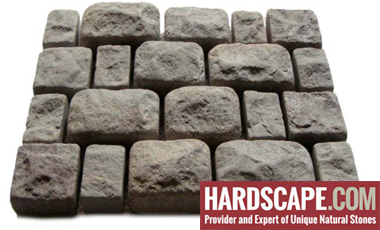 GM0307 - Granite cobblestone - 3 piece random pattern.