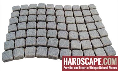 GM0358 - Salt and pepper mesh granite wave pattern.