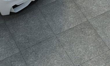 3cm Driveway Porcelain Pavers - Basalt Black