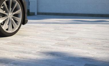 3cm Driveway Porcelain Pavers - Cadore Rovere