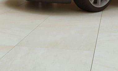 3cm Driveway Porcelain Pavers - Quartz Beige